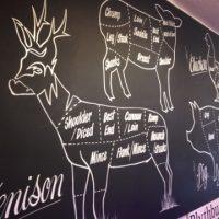 deer blackboard