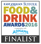 East Anglian Food and Drink Awards 2016 - Finalist